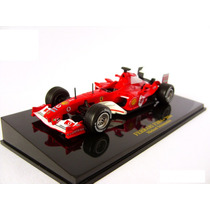 Miniatura Ferrari F1 F 2004 Schumacher Ixo Formula 1 Ed. 33