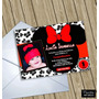 Invitaciones Digitales Personalizadas Minnie Mouse