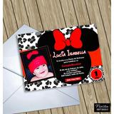 Invitaciones Digitales Personalizadas Minnie Mouse