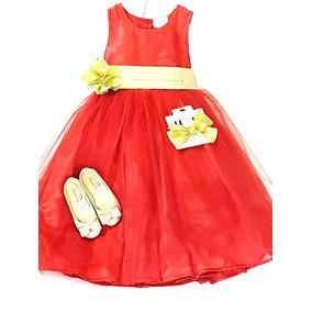 Hermoso Vestido De Niña Varias Tallas Y Colores