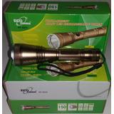 Lanterna Led 3000w Ecopower Ep-8820 / Recarregável