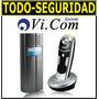 Portero Electrico Inalambrico 6011f Frente + Telefono Vicom