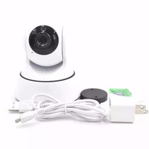 Babá Eletrônica Câmera Wifi V Noturna Microfone Bebê P/celul