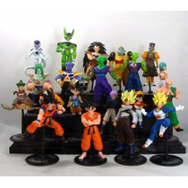 Dragon Ball Z - Gt Dragão Ball 20 Bonecos Coleção Goku Gohan