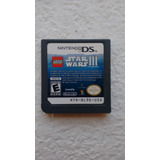 Juego Nintendo Ds Lite Star Wars Lego 3 Original