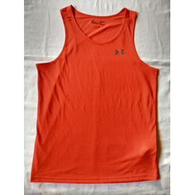 Musculosa Under Armour Microfibra Coolswitch Run Salmon