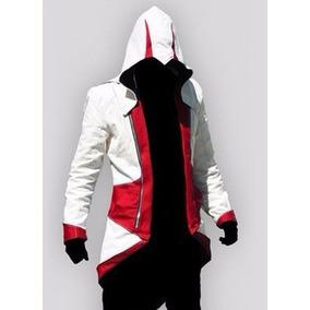 Jaqueta Assassins Creed Iii Cosplay Game Pronta Entrega