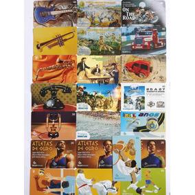 Cartões Telefone Brasil Telecon Telepar