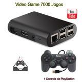 Vídeo Game Retro Raspberry Pi3 Com Recalbox 32gb 1 Controle