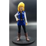 Figura Banpresto Androide #18 20 Cm Dragon Ball