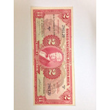 Billete De 2 Colones Banco Nacional 1946 Serie F