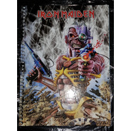 Iron Maiden - Caderno 96 Fls Capa Time