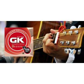 Encordado Gk De Guitarra Electrica O Acustica X 3 Set