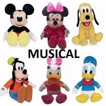 Turma Do Mickey De Pelucia Musical 1 Unidade A Sua Escolha