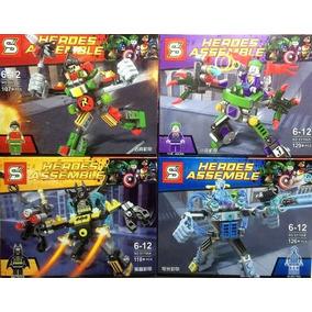 Batman | Minifiguras Armable | Heroe Assemble | Importado