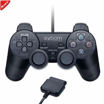 10 Controle Joystick Ps2 Ps1 Analógico Vibra Playstation 1 2