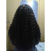 Cabelo Organico Cacheado 70 Cm Identico Ao Humano Mega Hair