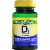 Vitamin D3 2000 Iu Con 200 Piezas Envio Gratis A Todo Mex