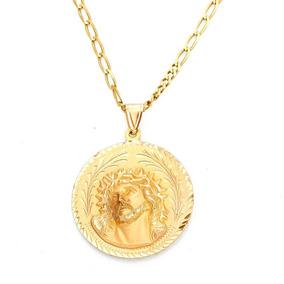 Collar Con Medalla Doble Imagen.