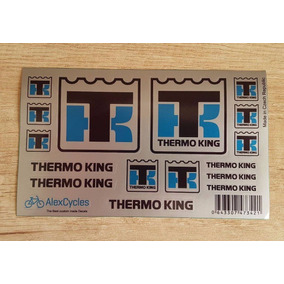 Tamiya Caminhão 1/14 Semi Trailer Adesivo Thermo King
