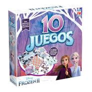 Juego De Mesa Fotorama 10 Juegos Frozen