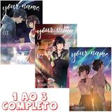 Your Name 1 Ao 3 Completo!! Mangá Jbc! Novo E Lacrado!