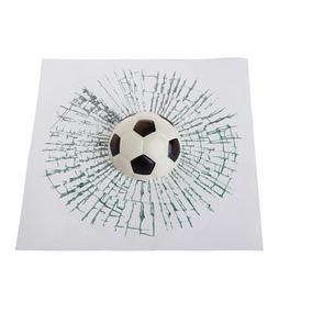 Sticker 3d Pelota Futbol Estrellada Calcomania Auto Tuning