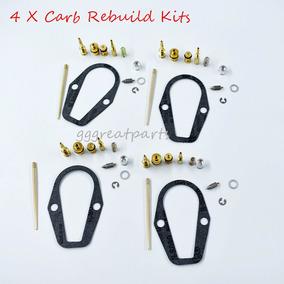 Reconstrucción De Carburador 4 Kits Para Honda Cb500 F