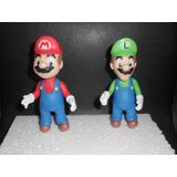 Mario Bros Ysus Amigos,masa Flexible,tortas,centros De Torta