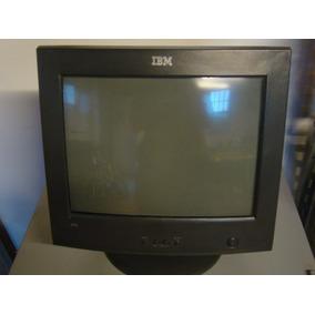 Monitor Ibm Le Faltan Los Cables De Corriente Y Video
