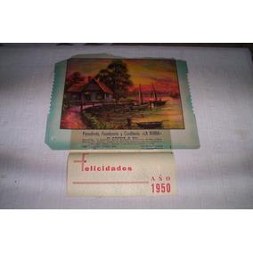 Almanaque 1950 Panaderia.la Rubia.uruguay ..