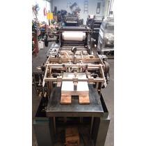 Maquina Para Imprenta Super Chief 2 Colores Offset