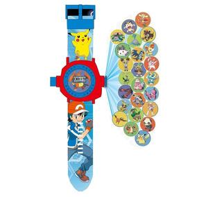Reloj Proyector De 24 Imagenes Pokemon Pikachu! Envio Gratis