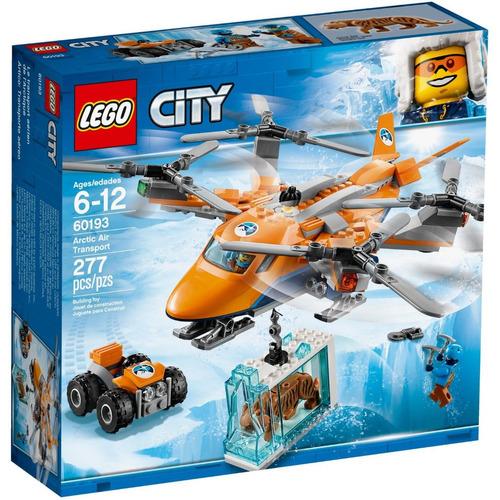 Lego City 60193 Helicóptero Das Neves Transporte De Animais