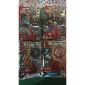 Battle Strikers Lote Trompos Mega Blok 7 Piezas Df Lyly Toys