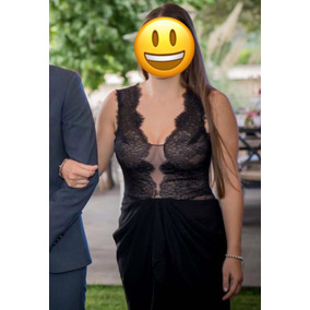 Vestido Negro Bcbg Seminuevo