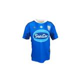 Camiseta Atlético De Rafaela Reusch Suplente Azul 2017