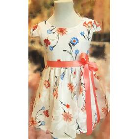 534bebb80 Vestido Fiesta Armani - Vestidos para Niñas Beige en Mercado Libre ...
