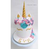 Cupcake Torta Unicornio Cakepops Galleta Decorada . Temática