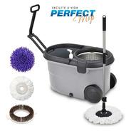 Balde Perfect Mop Pro 360 Inox C/3 Refis
