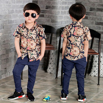 Camisas Manga Corta Para Niños De Moda Nuevas
