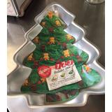 Molde Para Pastel Wilton Arbol De Navidad