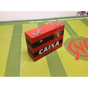 Maleta Futebol De Mesa - 5 Times E Diversos Espaços Extras.