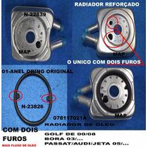 Radiador Resfriador Oleo Motor Golf Passat Audi A3 A4 Turbo