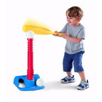 Set De Aprende Batear Beisbol Infantil Niños Little Tikes