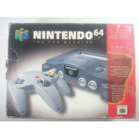 Video Game Nintendo 64 Completo Na Caixa + Jogo