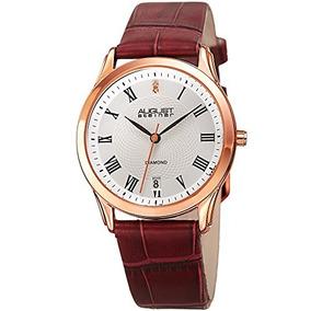 Steiner Agosto De Cuarzo Negro Dial Reloj De Las Mujeres As