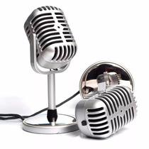 Microfono Retro Vieja Escuela 3.5 Mm Skype Facebook Chat
