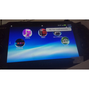 Consola Playstation Vita Fat Seminueva Perfecto Funcionamien