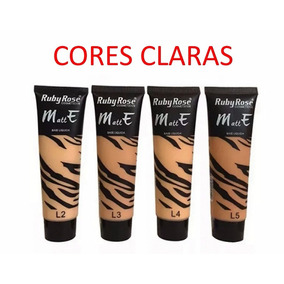 Kit Base Matte+corretivo Naked Ruby Rose+paleta Trio De Somb